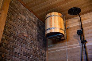 Баня с комнатой отдыха и купальней16